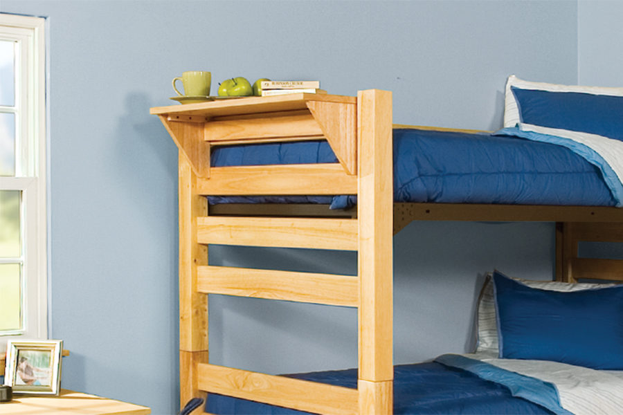 Graduate Series Bed Shelf in Natural