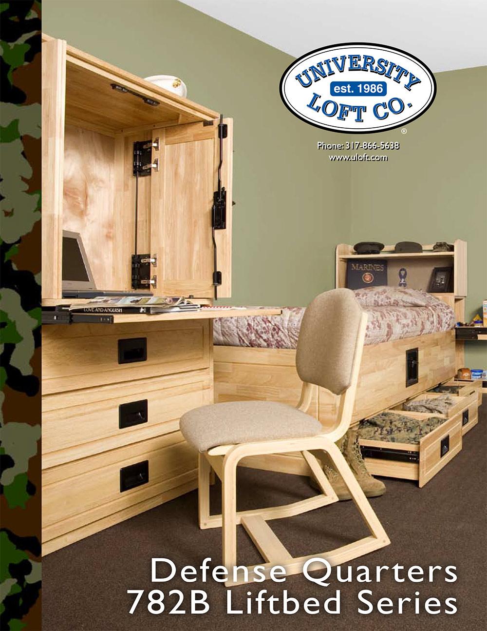 Defense Quarters Lift Bed Series
