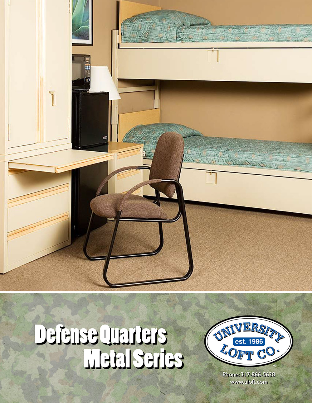 Defense Quarters Metal Series