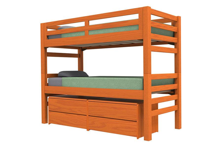 Graduate Cherry Bunk Beds