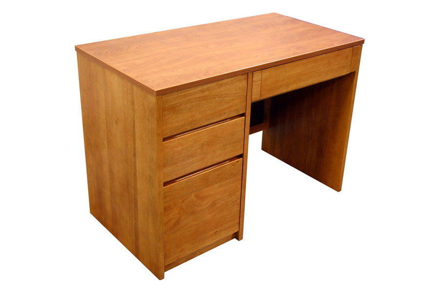Graduate Pedestal Desk in Wild Cherry